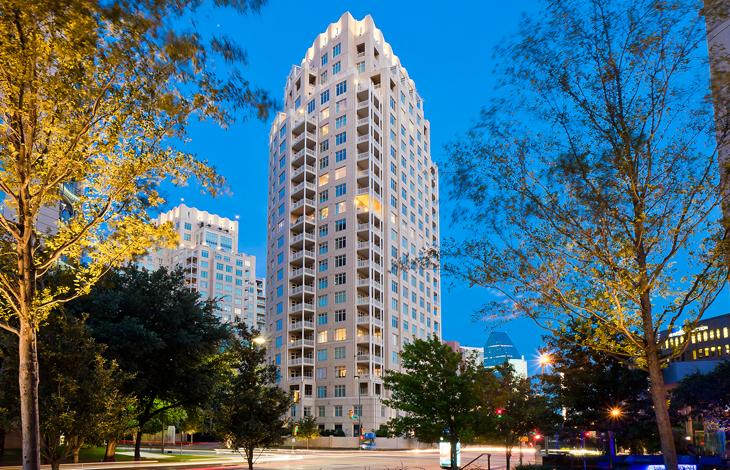 Uptown Dallas Luxury Condominiums The Ritz Carlton Dallas Residences