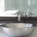 Here's a close up view of the bathroom sink.