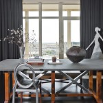 Here's a close up look at the Ann Sutherland designed dining table.
