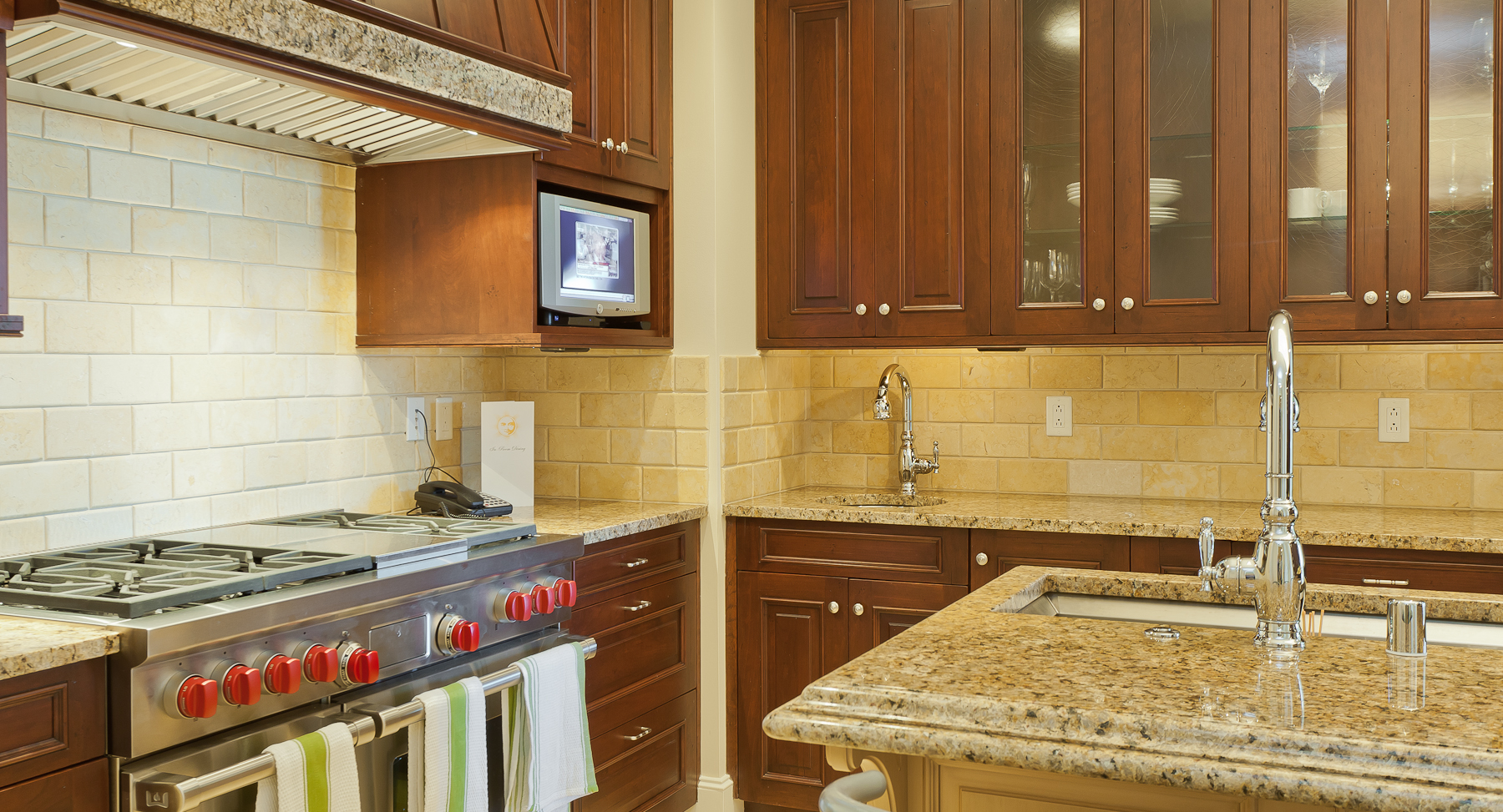 Kitchen Design by Jean Liu for The Residences Dallas Condos