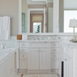 Here's a view of the cabinetry and bathroom sink in the Jean Liu designed showcase residence.