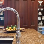 Sterling silver and granite counter top designed by Jean Liu