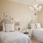 A secondary guest bedroom designed by Barry Williams