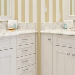 Here's a view of the his and her sinks in the master bathroom.